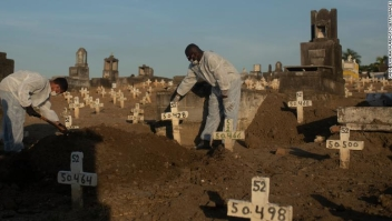 muertes globales covid