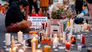 Protesta por hallazgos en internados canadienses