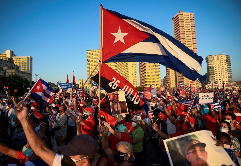 """Organizan manifestación de """"reafirmación revolucionaria"""" en La Habana"""