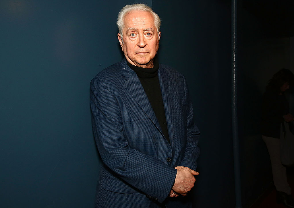 Robert Downey Sr NEW YORK, NY - MAY 20: Filmmaker Robert Downey, Sr poses for photos during 'An Evening With Robert Downey, Sr.' at Film Forum on May 20, 2016 in New York City. (Photo by Astrid Stawiarz/Getty Images)