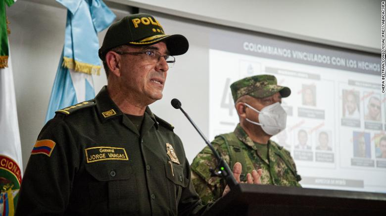 Jefe de la Policía Nacional de Colombia, General Jorge Vargas