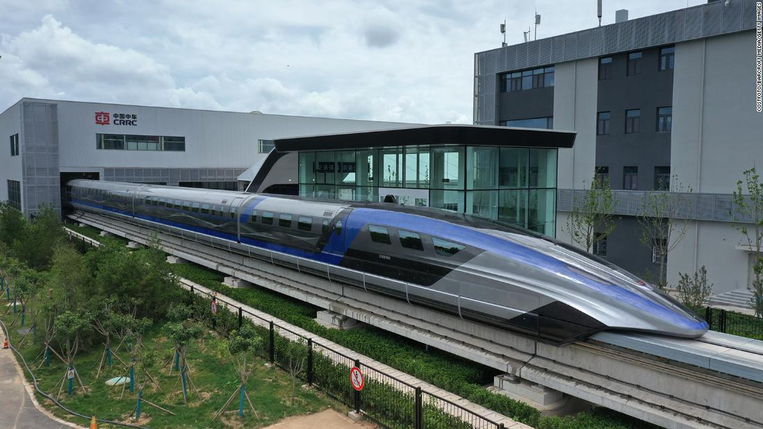 China launches the World's fastest train 'Maglev'