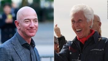 Una mujer de 82 años que entrenó para ser astronauta hace sesenta años ahora se va al espacio con Jeff Bezos