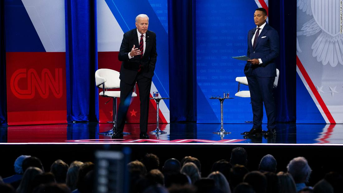 Verificación de hechos: Biden hizo afirmaciones falsas sobre covid-19, precios de automóviles y otros temas en el foro de CNN