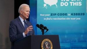 Índice aprobación Biden