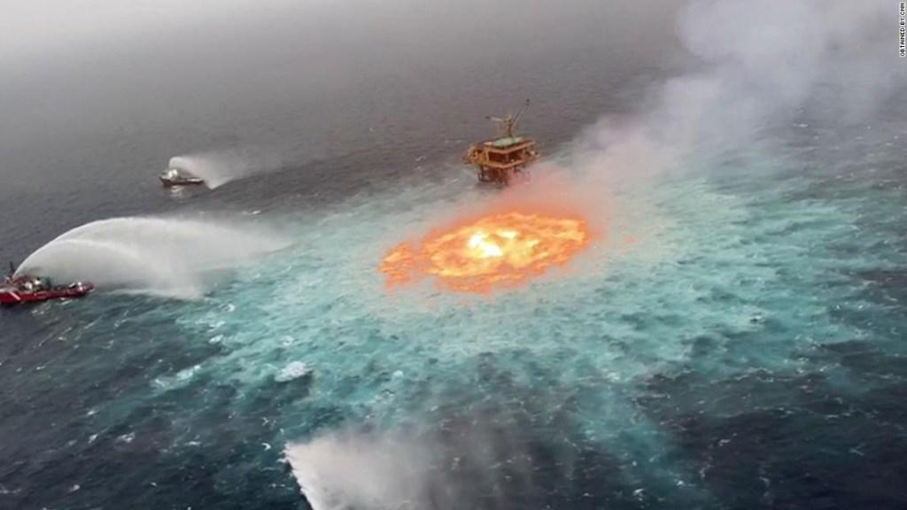 Ojo de fuego Pemex fuga de gas