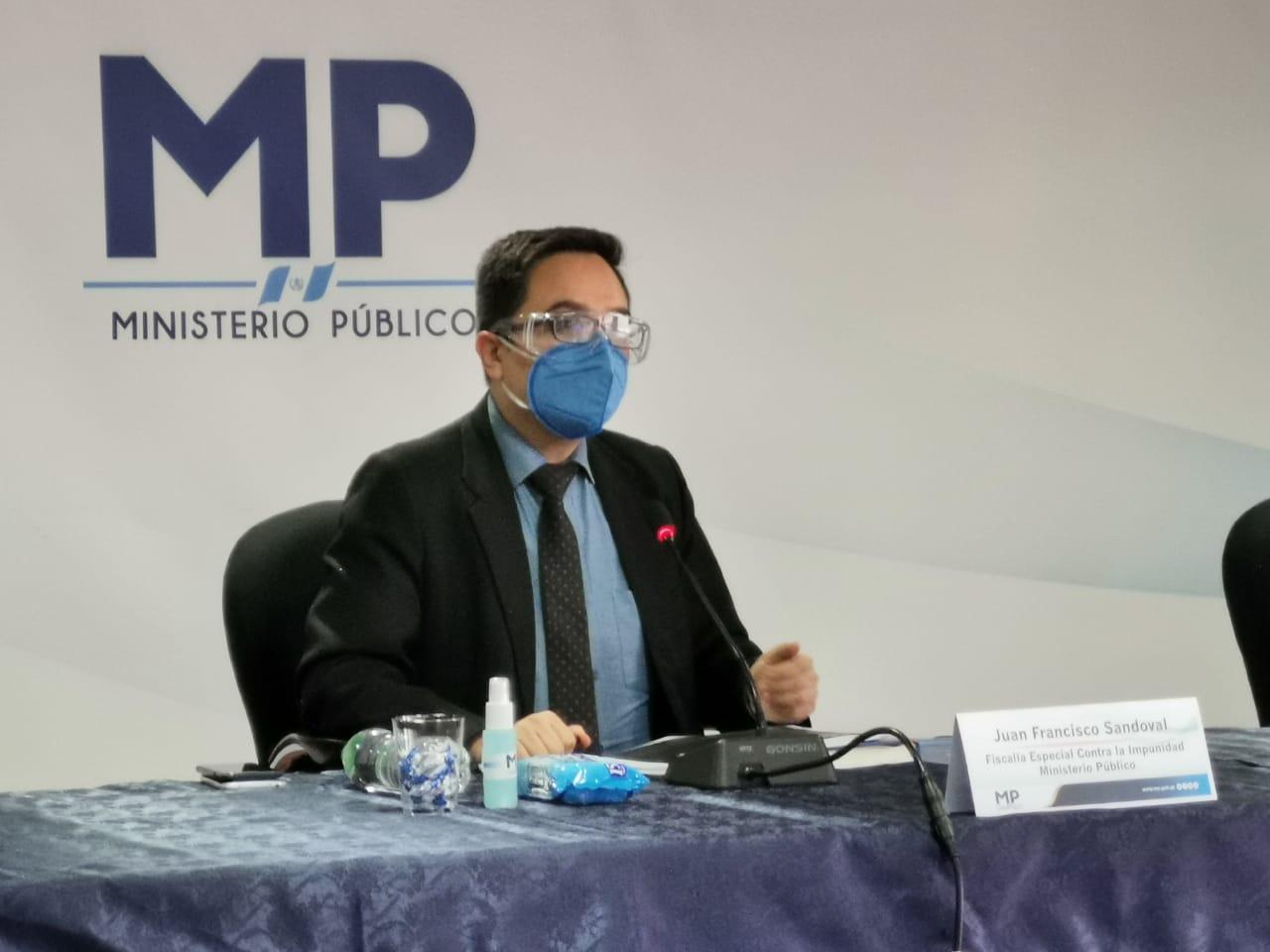 Remueven al fiscal anticorrupción de Guatemala Juan Francisco Sandoval