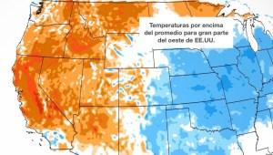 Ola de calor oeste EE.UU
