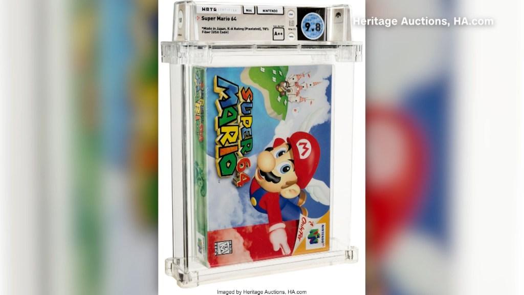 Super Mario 64/ Heritage Auctions, HA.com