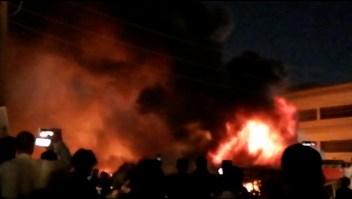incendio iraq