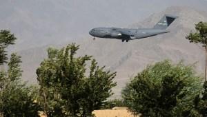 Retiran todos los militares estadounidenses de la base aérea de Bagram en Afganistán