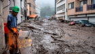 Twenty people are missing in a landslide in Japan, and two are believed to have been killed