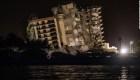 Polvo y desolación deja la demolición de edificio colapsado