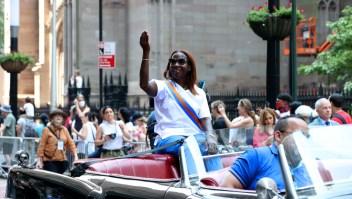 Así comenzó el desfile en honor a los trabajadores esenciales en la ciudad de Nueva York