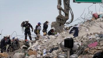 Ya son 64 los muertos por el derrumbe en Miami