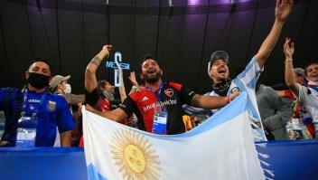 Expectativa en Argentina por la final de la Copa América