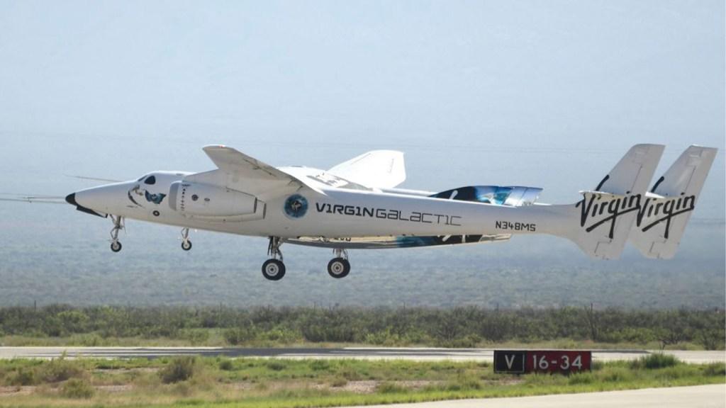 Mira el despegue de Richard Branson al especio con la nave de Virgin Galactic