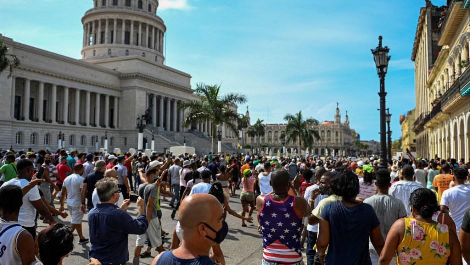 Movimiento de protestas en Cuba es antiautoritario, dice historiador