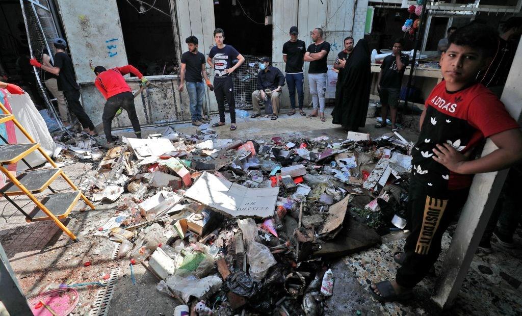 ISIS se adjudica atentado en Iraq que cobró la vida de decenas de personas en un mercado