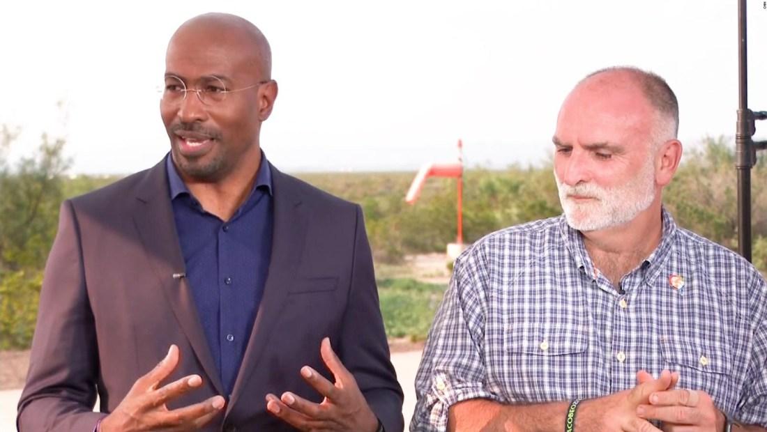 """""""Me quedé sin palabras"""": mira la reacción de Van Jones, de CNN, cuando Jeff Bezos le anunció donación de US$ 100 millones"""