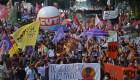 Piden la destitución de Jair Bolsonaro en varias ciudades de Brasil