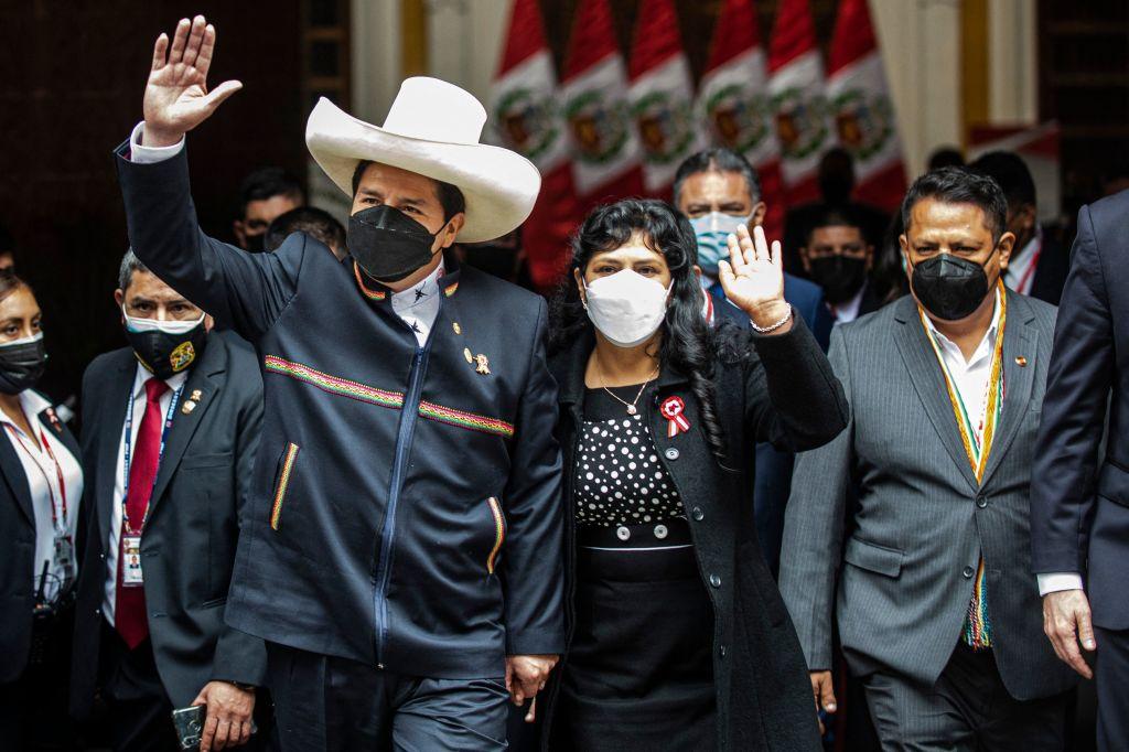 """Pedro Castillo: """"Será primera vez que nuestro país será gobernado por un campesino"""""""