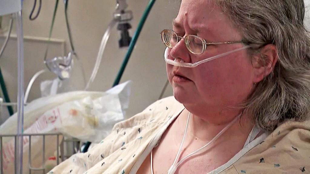 """""""Tengo este sentimiento, si estuviera vacunada, no sería hospitalizada"""", dijo Matzen."""
