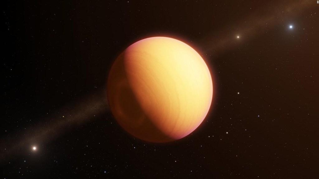 Así se verían los planetas fuera del sistema solar