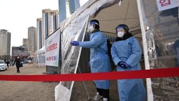 Corea del Sur supera los 2.000 casos diarios por covid-19