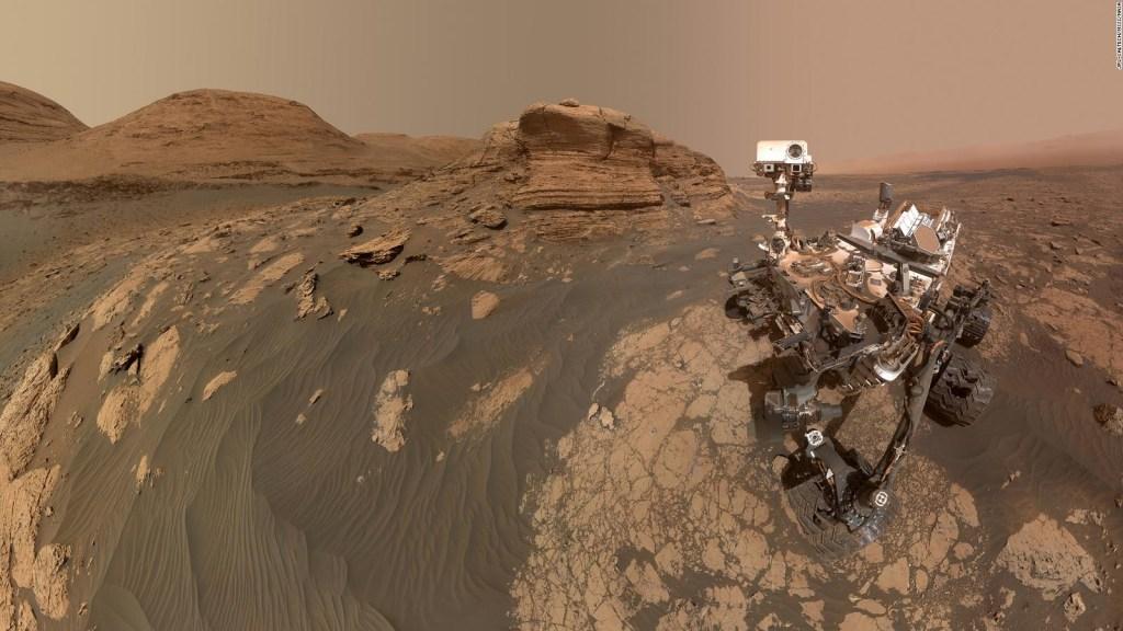 Mira la nueva panorámica del invierno en Marte