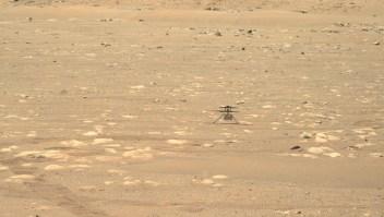 Mira la increíble fotografía aérea 3D de Marte