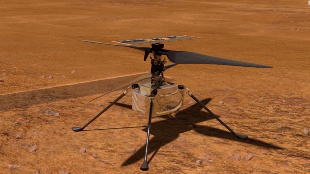 Ingenuity recibe premio por ser pionero en volar en Marte