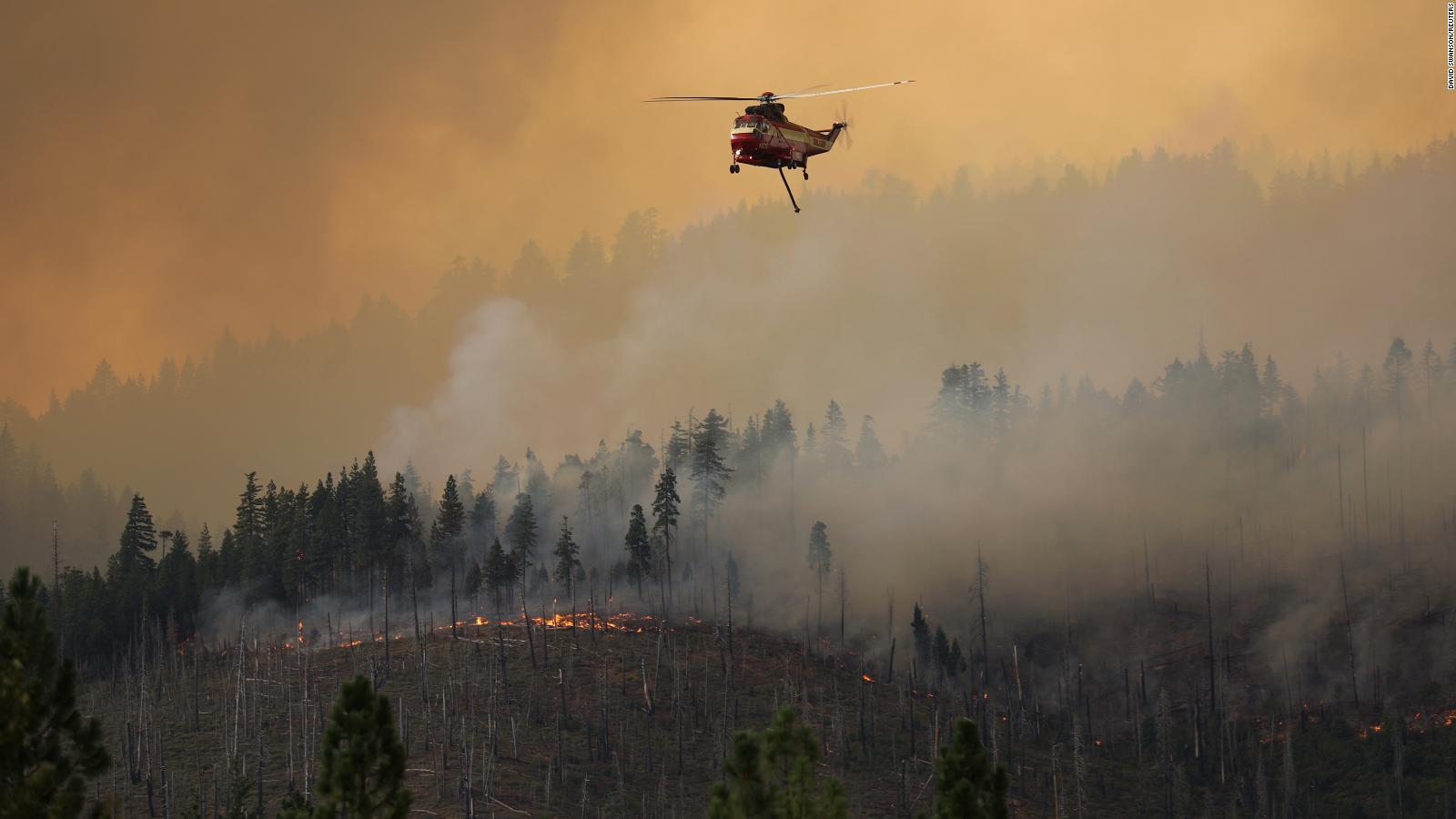 91 incendios forestales afectan varios estados de EE.UU.