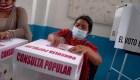 Baja participación en la consulta popular en México