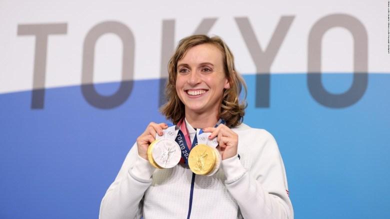 Con 24 años, Katie Ledecky ya tiene 10 medallas olímpicas