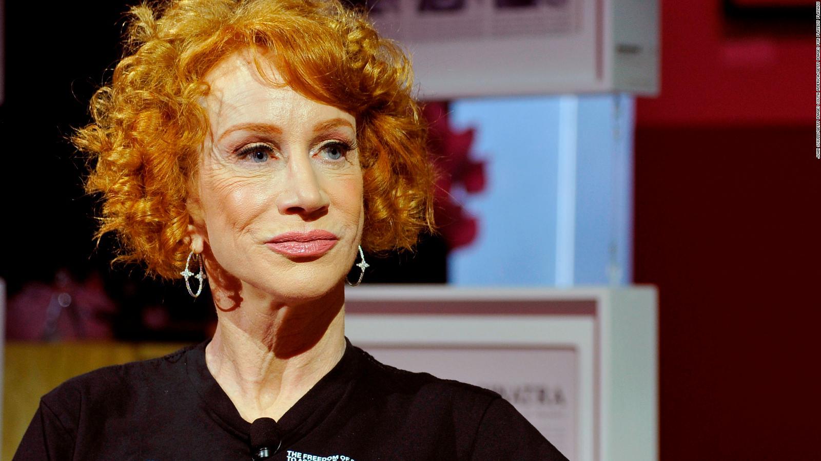 Kathy Griffin revela su diagnóstico de cáncer de pulmón