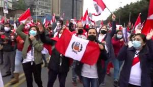 Tensión a pocos días de asunción de Pedro Castillo