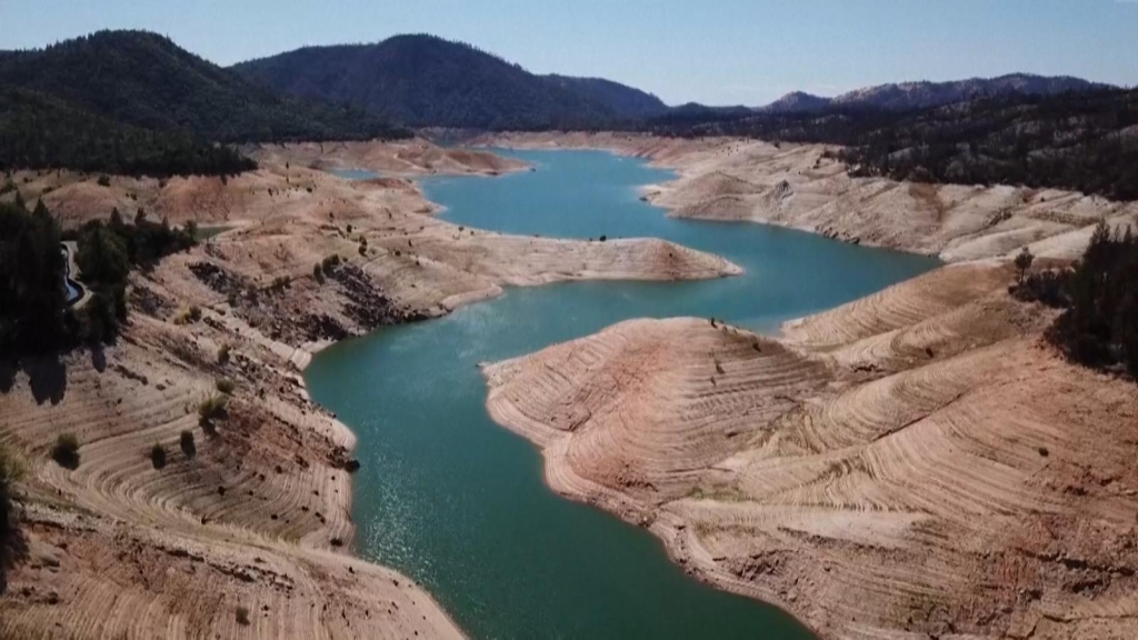 This hydroelectric plant could shut down due to drought
