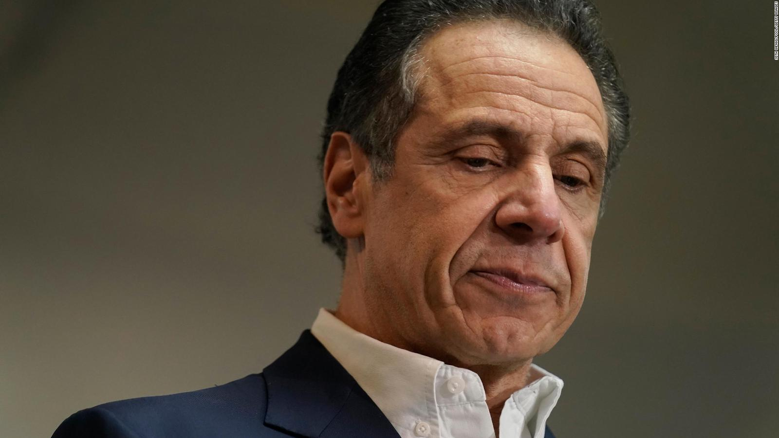 Andrew Cuomo, el gobernador de Nueva York que anunció su renuncia