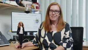 Barbie crea muñecas en honor a heroínas de la pandemia