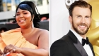 This is how Chris Evans reacted to Lizzo's jokes about the rumors of a pregnancy