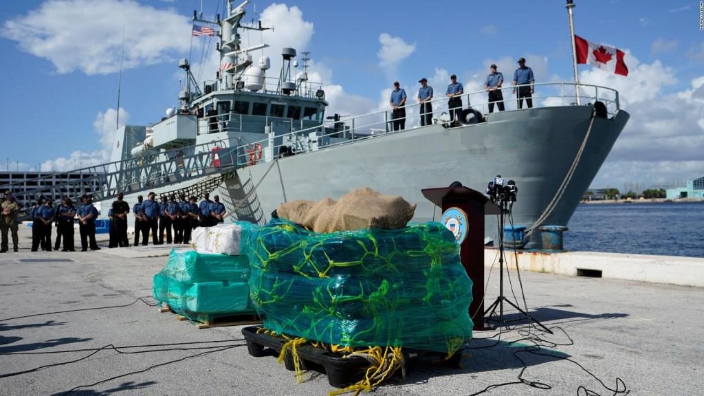 Detectan gran cargamento de drogas en costas de Florida