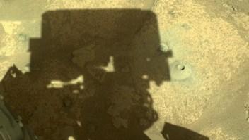 Mira la primera perforación del Perseverance en Marte