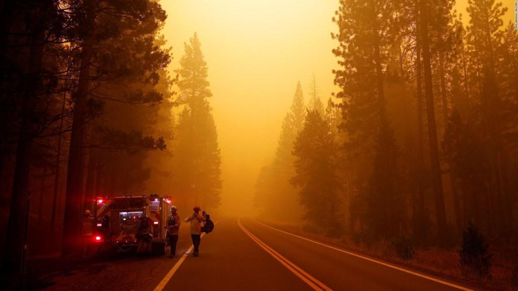 El incendio Dixie es el más grande en EE.UU.