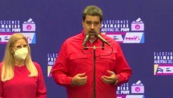 Maduro habla del diálogo con la oposición 'guaidocista'