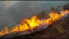 Bolivia y Perú se ven afectados por incendios forestales