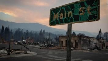 Así quedó esta ciudad en California tras incendio Dixie