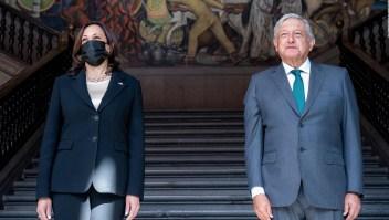 ¿De qué hablaron Kamala Harris y López Obrador?