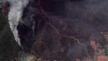 Así se ven los incendios en Grecia desde el espacio