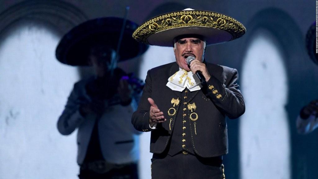 Ils placent une sonde gastrique sur Vicente Fernández